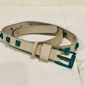 Vans skinny studded belt Small